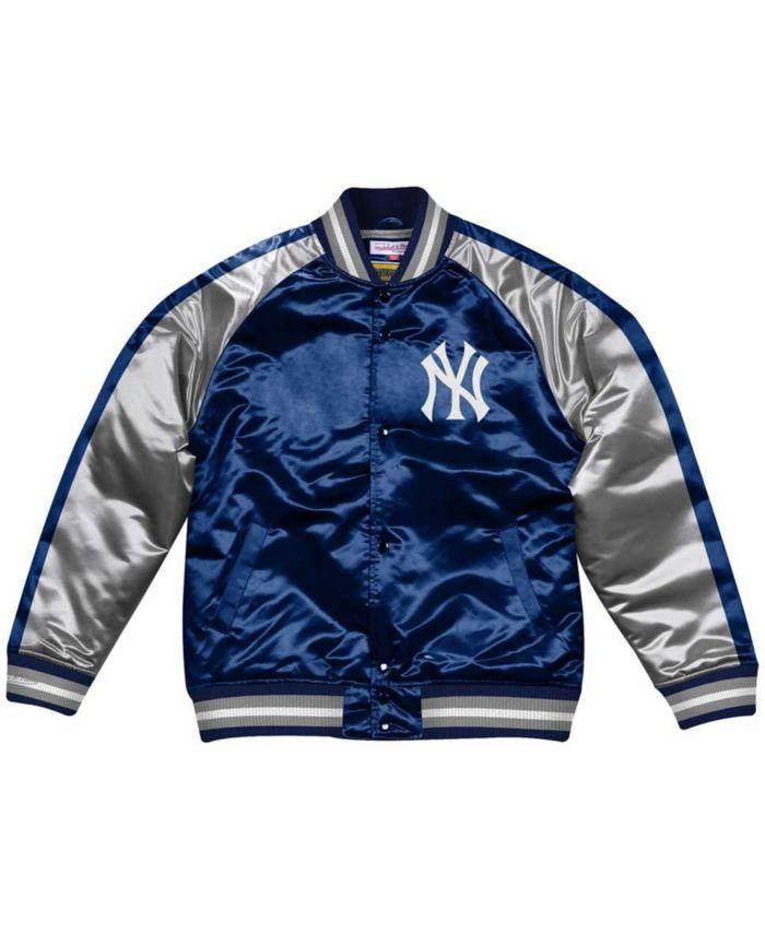 Mitchell & Ness Men's New York Yankees Color Blocked Satin Jacket & Reviews - Sports Fan Shop By Lids - Men - Macy's