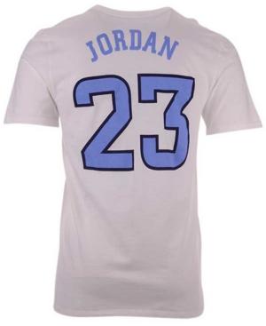 Nike North Carolina Tar Heels Men's Basketball Jersey T-Shirt Michael Jordan