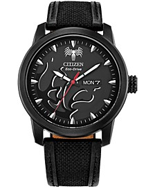 Eco-Drive Men's Venom Black CORDURA® Strap Watch 42mm