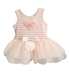 Baby Girls Stripe Tulle Dress
