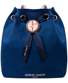 Receive a Complimentary Pouch with any large spray purchase from the Giorgio Armani My Way Fragrance Collection