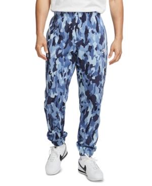 Nike Men's Sportswear Club Fleece Camo Joggers