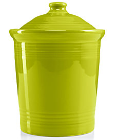 Fiesta Lemongrass Medium Canister