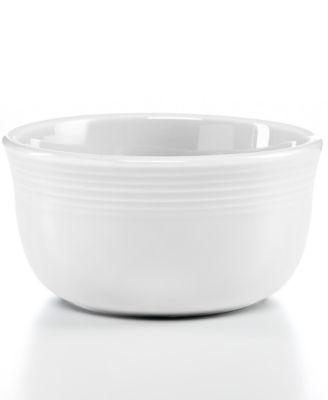 White 28-oz. Gusto Bowl