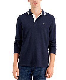 Men's Long-Sleeve Greenwich Polo Shirt