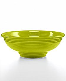 Fiesta Lemongrass Pedestal Bowl
