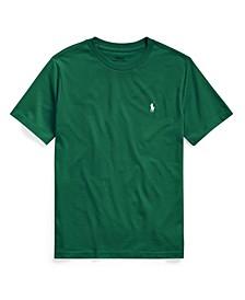 Big Boys Cotton Jersey Crewneck T-Shirt