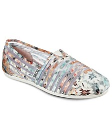 Women's BOBS Plush - Dreamin Daisy Slip-On Casual Sneakers from Finish Line