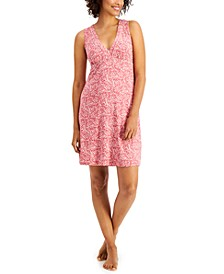 Super-Soft Piping Chemise Nightgown, Created for Macy's