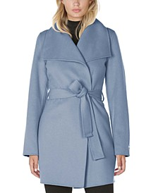 Ella Belted Wrap Coat