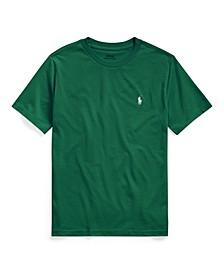 Toddler Boys Cotton Jersey Crewneck T-Shirt