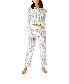Knit Pointelle Sleep Pant