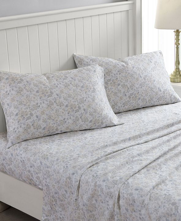 Laura Ashley Quartet Queen Sheet Set