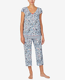 Ellen Tracy Women's Short Sleeve Pajama Top