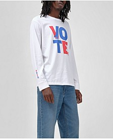 Men's Vote LS Relaxed Vintage-Like T-shirt