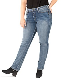 Plus Size Avery Straight-Leg Jeans