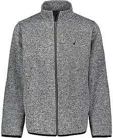 Little Boys Sweater Fleece Jacket