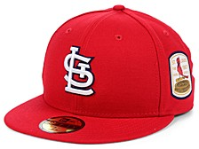 St. Louis Cardinals World Series Patch 59 FIFTY-FITTED Cap
