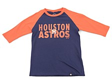 Youth Houston Astros Fast Track Raglan T-Shirt