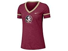 Women's Florida State Seminoles Slub V-neck T-Shirt