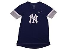 Youth New York Yankees Girls V-Neck Hero T-Shirt