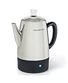HCPC10SS 10-Cup Stainless Steel Coffee Percolator