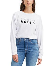 Levi's® Fleece Logo Graphic Sweatshirt, Created For Macy's