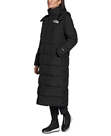 Women's Hooded Down Maxi Coat