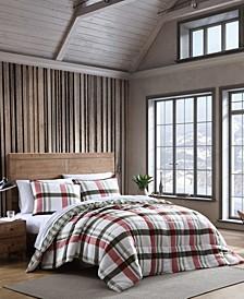 Stanton Plaid King Comforter Set