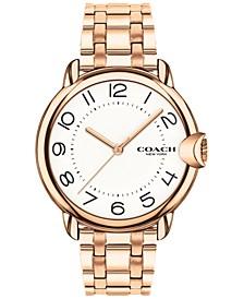 Women's Arden Rose Gold-Plated Bracelet Watch 36mm