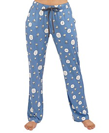 Vintage Peanuts Woodstock Pajama Pants