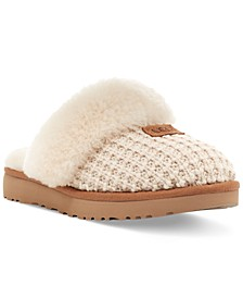Women's Cozy Faux-Shearling Slippers