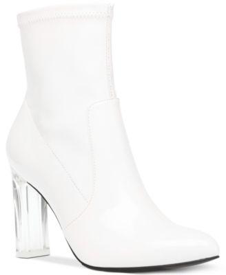Wild Pair White Women's Boots - Macy's