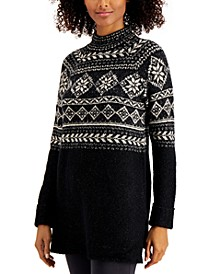 Fair-Isle Tunic Sweater, Created for Macy's