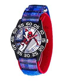 Marvel Spider-Man Boys' Black Plastic Watch 32mm
