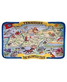 Certified International Tennessee Souvenir Rectangular Platter