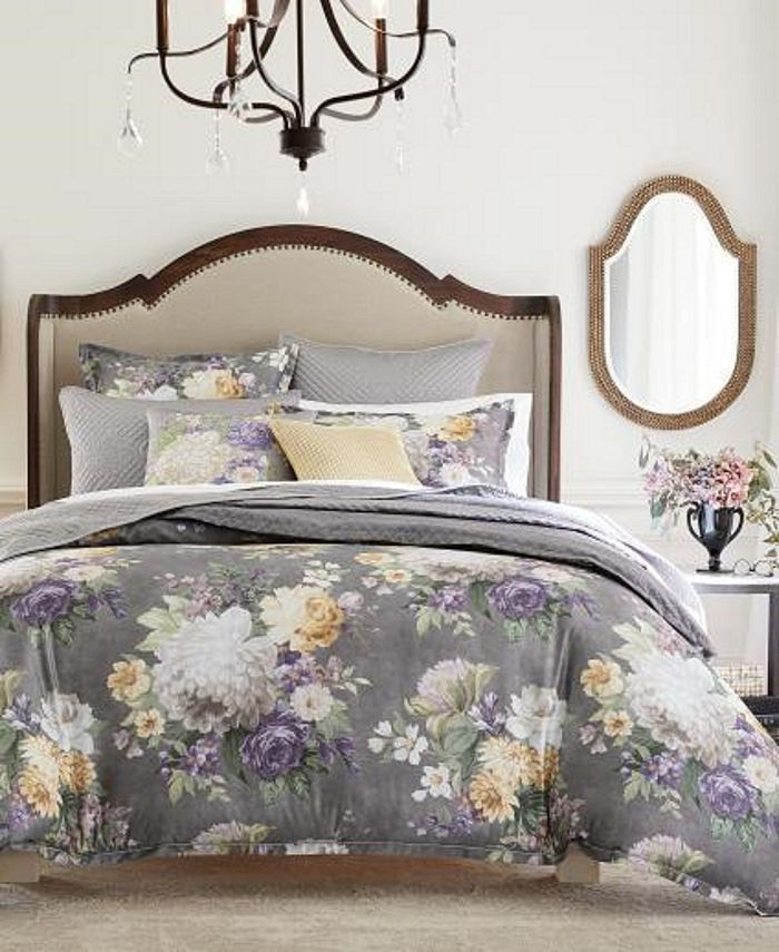 Hotel Collection - Classic Grand Bouquet Duvet, Created for Macy's
