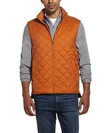 Men's Diamond Quilted Vest