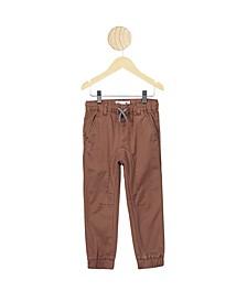 Little Boys Logan Cuffed Pant