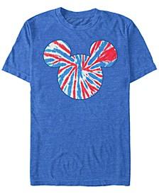Men's Tie Dye Americana Short Sleeve T-Shirt