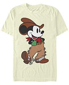 Men's Cowboy Mickey Short Sleeve T-Shirt