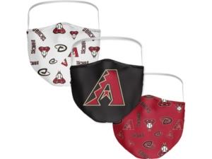 Arizona Diamondbacks 3-Pk. Face Mask