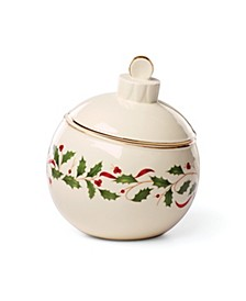 Holiday Ornament Candy Jar