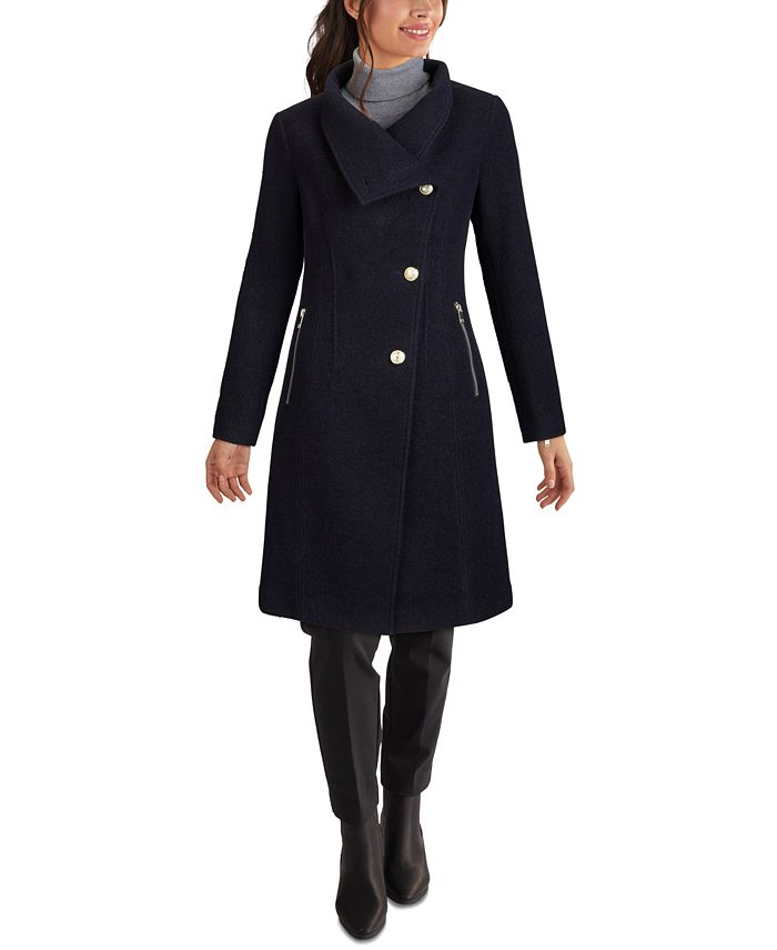 GUESS - Asymmetrical Stand-Collar Coat
