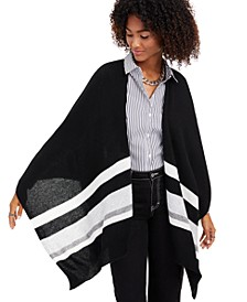 Striped Cashmere Ruana, Created for Macy's