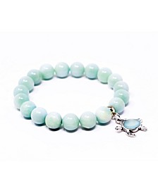 Save the Turtles Gemstone Bracelet