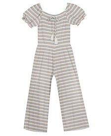 Little Girl Rib Knit Jumpsuit
