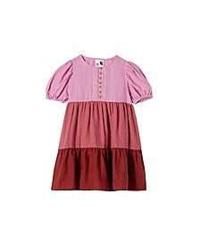 Big Girls Meredith Short Sleeve Dress