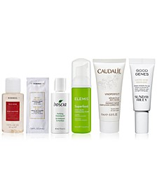 Choose your Best Seller Sample with select $50 Natural Beauty purchases!