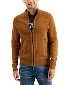 Men's Plaited Full-Zip Jacket